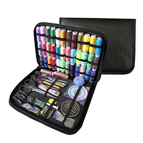 Naaigereedschap Kit, naaigerei, DIY Premium Naaibenodigdheden Portable Kits voor beginners, Girls & volwassenen, Naaien Set voor Home Reizen en in noodgevallen,Set