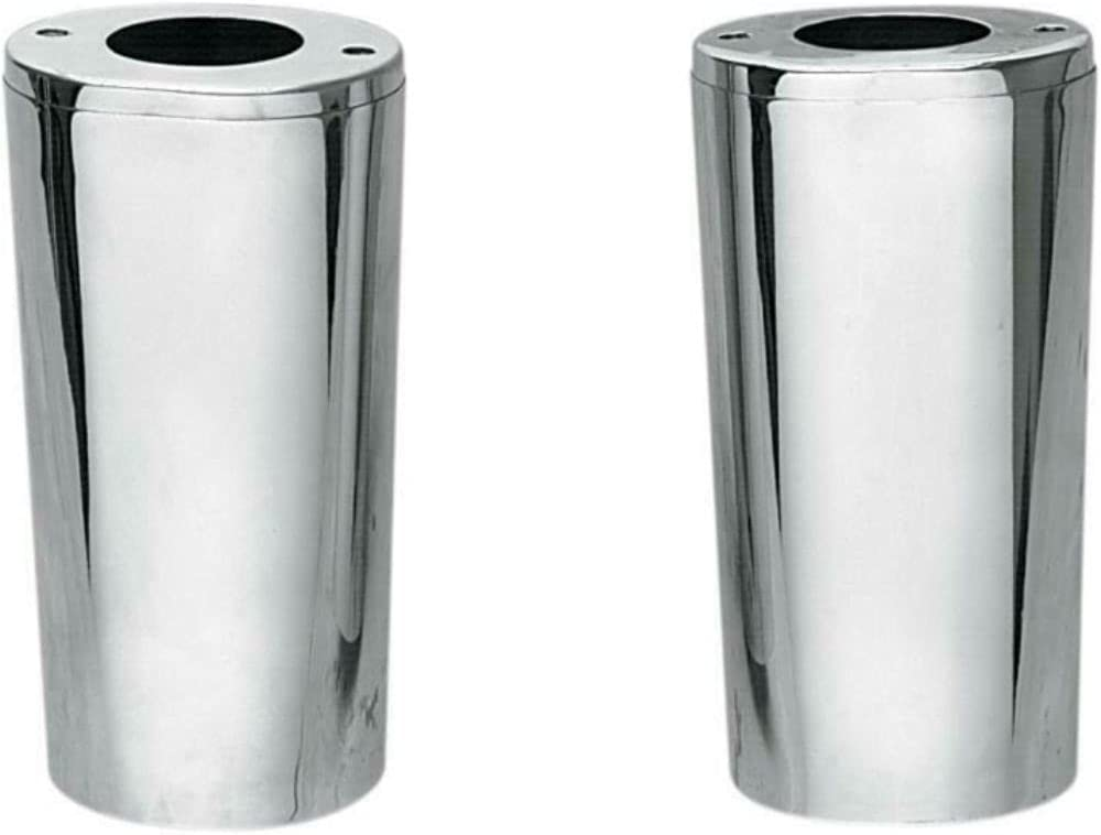 Ass-DG Chrome Fork Slider Covers with Length Compatible New products world's highest quality popular Stock New item Ha