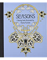 Seasons Coloring Book: Published in Sweden as Tidevarv