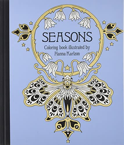 Seasons Coloring Book Published in Sweden as Tidevarv product image