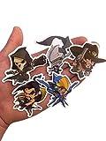 Overwatch Custom Print Die Cut Bumper Vinyl Stickers Pack of All 28 Characters (Cute)