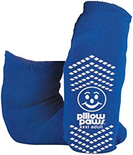 BARIATRIC SLIPPER SOCK NON SKID (3pk), 3X large, Blue