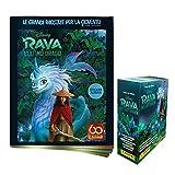 Raya and The Last Dragon Sticker & card Collection Super Starter Pack [Album + BOX DA 24 Bustine]