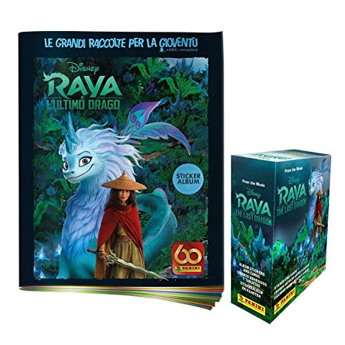 Raya and The Last Dragon Sticker & card Collection Super Starter Pack...