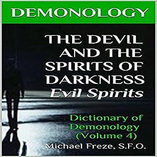 Demonology audiobook cover art