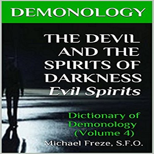 Demonology audiobook cover art