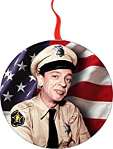 Barney Fife Andy Griffith Christmas Tree Holiday Ornament Printed Double- 2 Sided Decoration Great Unisex