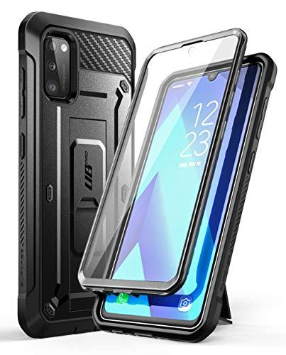 SUPCASE Outdoor Hülle für Samsung Galaxy A41 4G Handyhülle Bumper Case 360 Grad Schutzhülle Cover [Unicorn Beetle Pro] mit Integriertem Displayschutz 2020 Ausgabe (Schwarz)