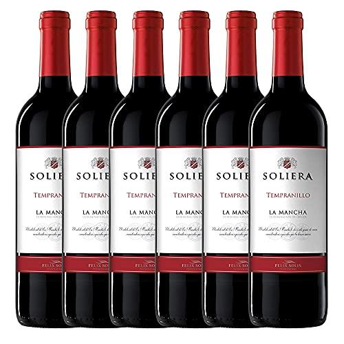 Soliera Tinto - 6 botellas x 750ml - Total:4500ml