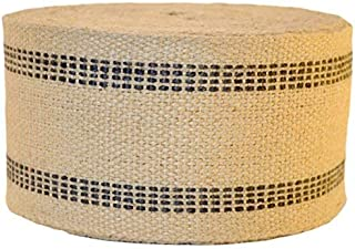 Firefly Craft Upholstery Jute Chair Webbing, 3 1/2 Inches Wide