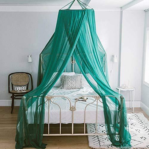 Katoenen baldakijn voor bed, hangstoel voor bed, bedhemels, muggennet, rond, voor bed en baldakijn, Puro, decoratie, voor kinderen en volwassenen 1.5m Ik