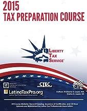 2015 Tax Preparation Course: Liberty Tax