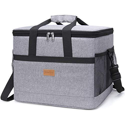 Lifewit 30L Kühltasche Picknicktasche Lunchtasche Mittagessen Tasche Thermotasche Isoliertasche für Lebensmitteltransport