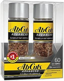 Ab Cuts ADVANCED CLA Belly Fat Formula, 120 Softgels (2 packs of 60)