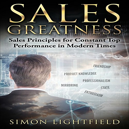 Sales Greatness audiobook cover art