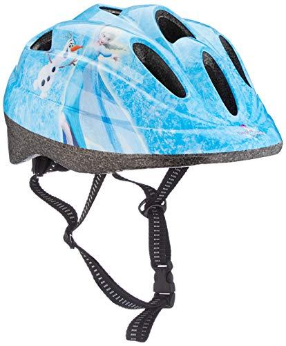 Toimsa Eiskönigin Disney Fahrradhelm Kinderhelm Kinder Schutzhelm Helm Kinderfahrradhelm Radhelm