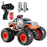 Remote Control Truck, ABSIROGIA 1:18 Scale RC Truck , 2.4Ghz Remote Control Monster Truck Dune Buggy Hobby Kids Toys for Kids, All Terrains High Speed 15 Km/h, with 2 Rechargeable Batteries