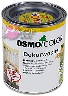 オスモ オスモカラー ウッドワックスオパーク「日本の色」 750ml #3169黒色