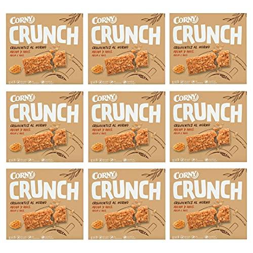 Corny Crunch Barritas de avena y miel. 9 estuches con 3 barritas 9x(3x40g)