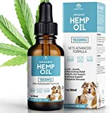 Malino Paws Hemp Oil for Pets 1500 Organic Chamomile and Vets Advanced Formula | Promote Stress and...