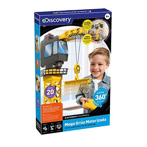Discovery Kids Mega-grúa motorizada niños, Torre Juguete, maquinas de...
