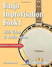 Banjo Improvisation Book 1 with Video & Audio Access