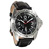 Vostok America Komandirskie K-39 Automatic & Manual Black Dial Mens Watch (K-39 390776)