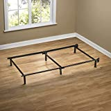 ZINUS Compack Metal Bed Frame / 7 Inch Support Bed Frame for Box Spring and Mattress Set, Black, Twin