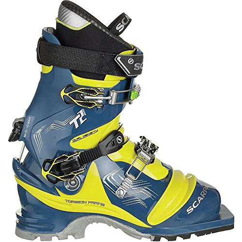 SCARPA Men's T2 Eco Mountain Boots True Blue/Acid Green 28