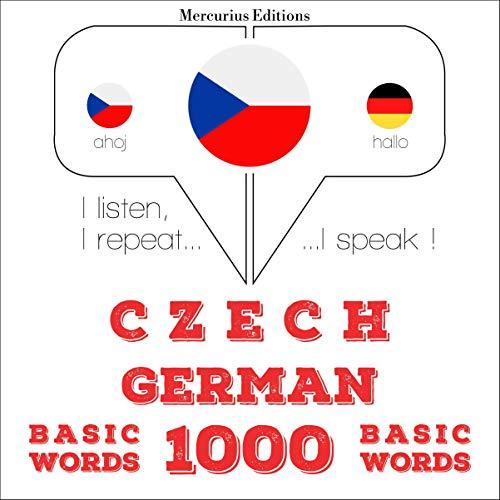 Czech - German. 1000 basic words cover art