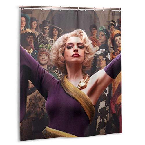Meili Filme Witches Duschvorhang mit Haken Waschbar Wasserdicht Home Badezimmer Dekorationen, für Badezimmer Duschen 60x72in