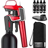 Coravin Model Two Elite Pro - Wine Preservation System, Candy Apple Red