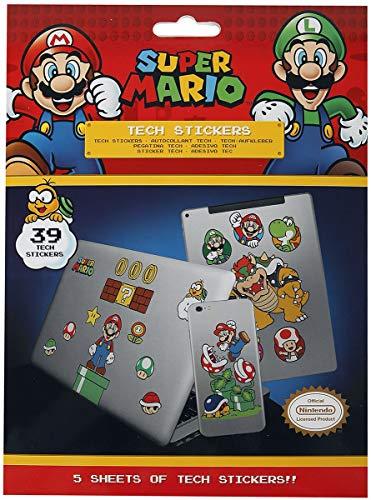 Pyramid International Super Mario RD-RS461456 Tech sticker Mushroom Kingdom
