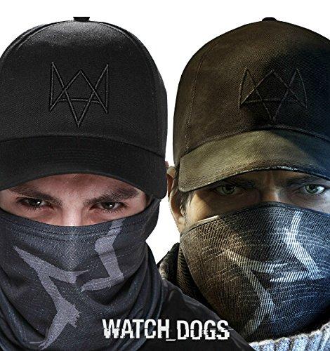 Watch Dog Basecap und Maske von Aiden Pearce Mütze Schal (Basecap und Maske)