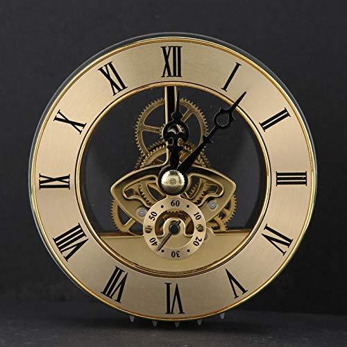 con junta, accesorios de reloj, hora de perspectiva de metal de alta gama, ideal para hacer manualidades o reemplazar caras de reloj antiguas para fabricantes de relojes
