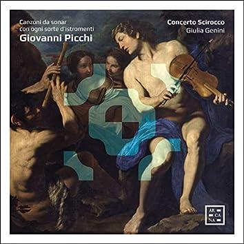 Picchi: Canzoni da sonar con ogni sorte d'istromenti