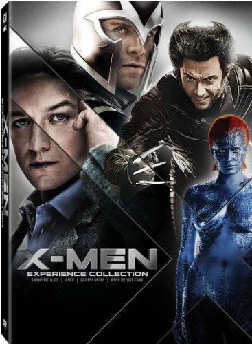 X-Men: Experience Collection (X-Men / X2: X-Men United / X-Men: The Last Stand / X-Men: First Class)