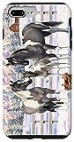 iPhone 7 Plus/8 Plus Gray Pinto Grulla Paint Horses In Snow Winter Scene Case