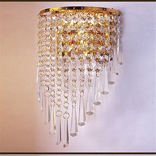 Lampada da parete all' ingrosso Explosion Crystal LED lampada da parete Hotel nachttischlampe Camera da letto lampada da parete applique Decorativa Interna, altezza 310mm larghezza 190mm 130mm