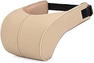 luckylele Car Seat Cuello Almohada de Espuma de Memoria Auto Apoyo for la Cabeza de la Almohadilla del Cuello Vértebra Proteja Fit Viajes/Oficina/Inicio/Cuello del Coche de la Guardia Artefacto