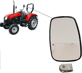 Retrovisor exterior para excavadoras tractor camión 375x185 mm con espejo soporte set