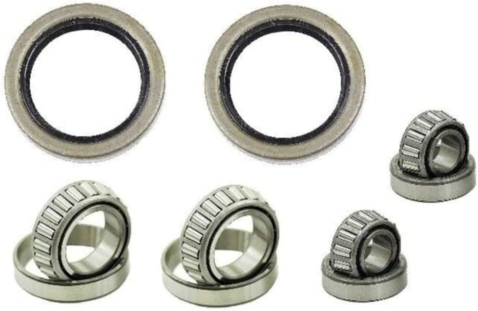 YOYODEER 2x Front Wheel Bearing Kit inner outer Brand new Max 49% OFF left right seal