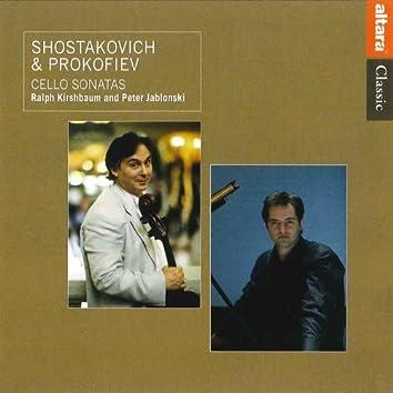 Shostakovich & Prokofiev: Cello Sonatas