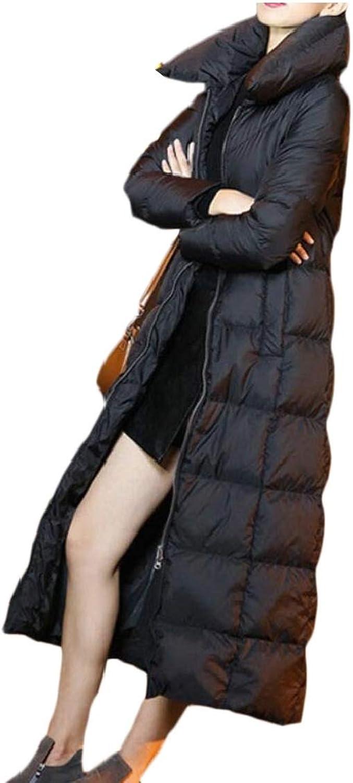 Desolateness Women's Outwear Winter Warm Coat Long Thick Hooded Down Jacket
