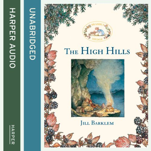 The High Hills audiobook cover art