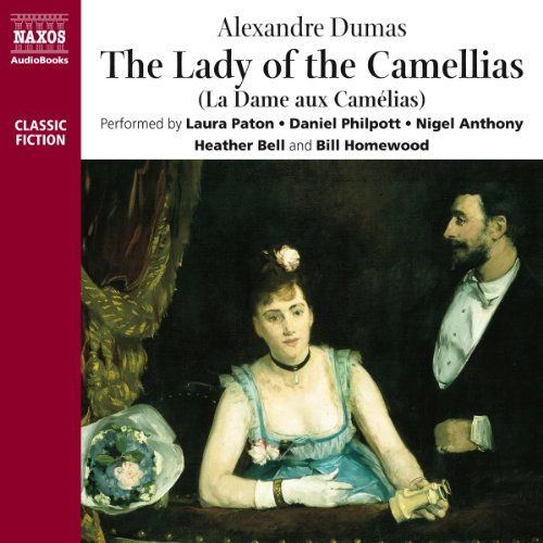 The Lady of the Camellias audiobook cover art