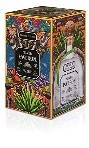 Patrón Silver Tequila in Metallbox limitierte Edition (1 x 0.7 l) - 2