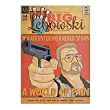 The Big Lebowski Comic Style Poster The Best and Style Home Decor Wall Art Print Poster Customize