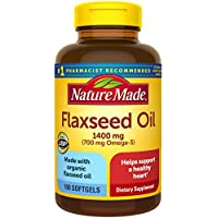 100-Count Nature Made Flaxseed Oil 1400 mg Softgels