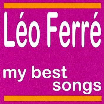 Léo ferré : My best songs